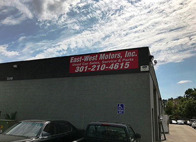 East West Motors Maryland